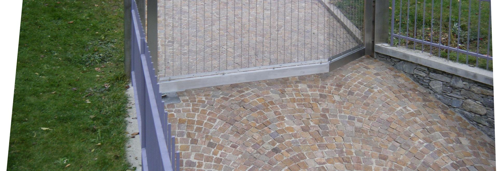 Puerta en la casa privada, Milán