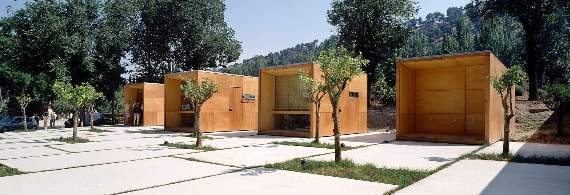Puntos de información en La Alhambra