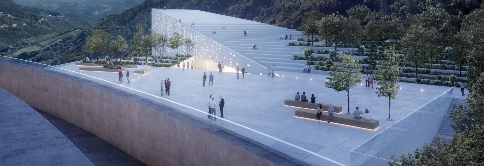 Snøhetta diseña el museo italiano de la cima de la montaña para Ötzi el Iceman