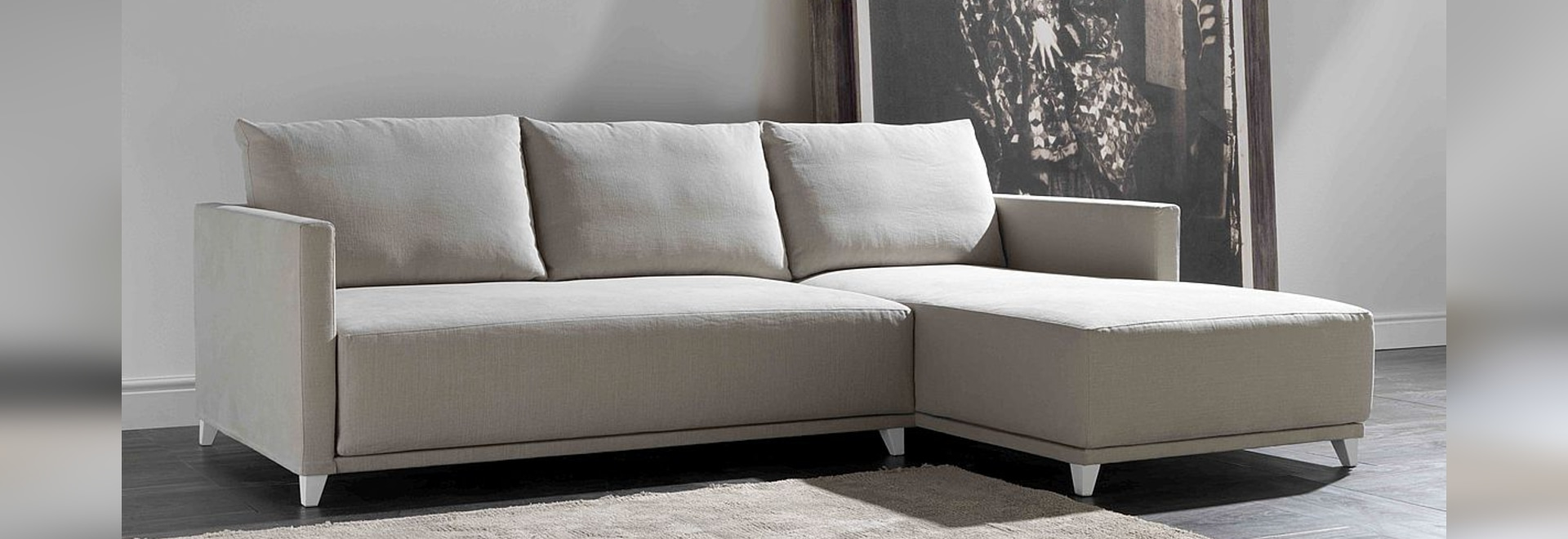 Sofá moderno Noname, nueva llegada en casa Santambrogio Sofas