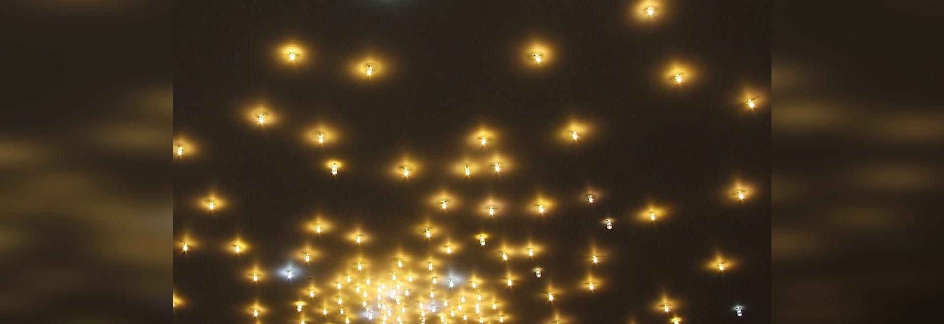 Techo iluminado del LED