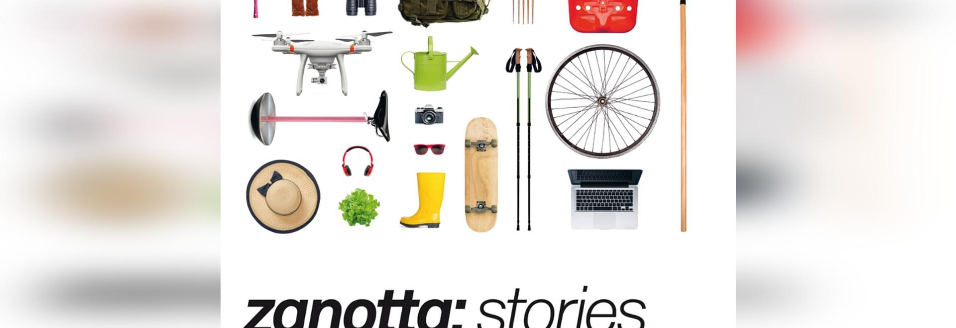 Tecno presenta las historias de Zanotta