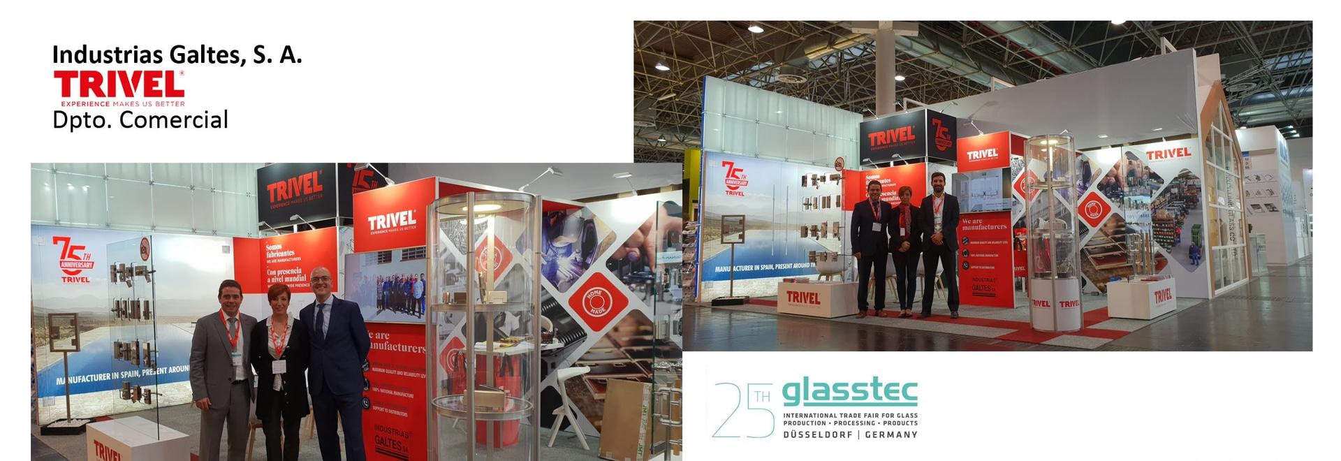 Trivel en Glasstec y Veteco 2018