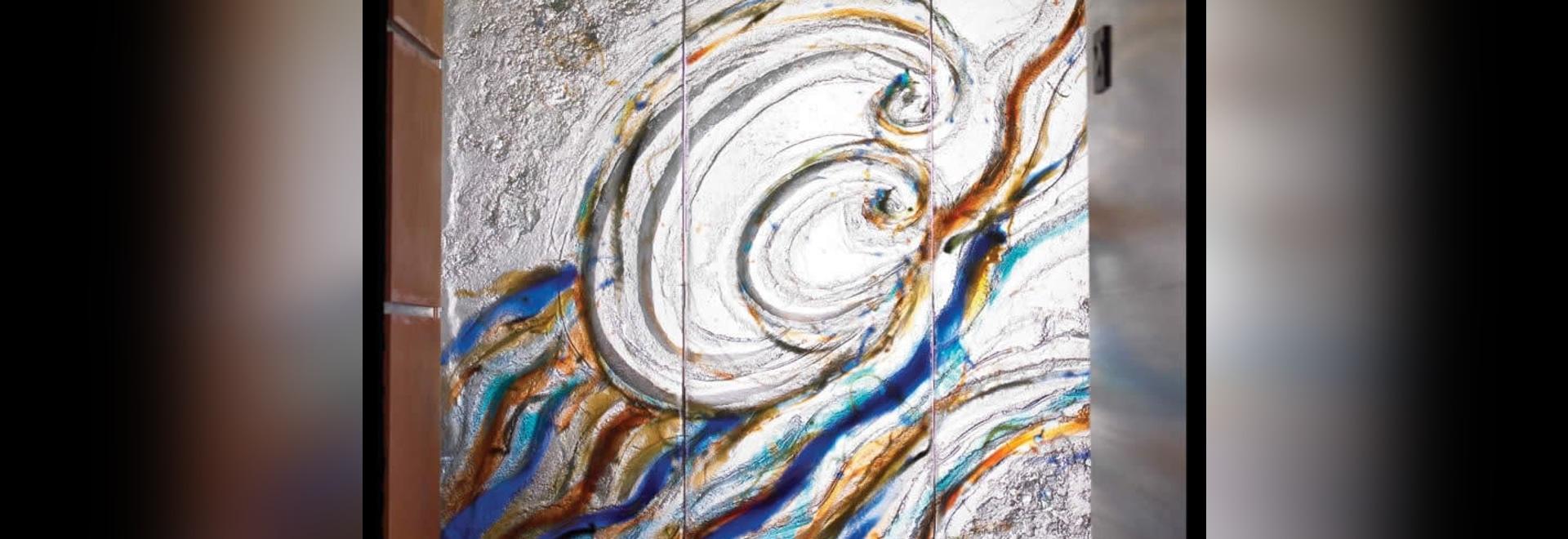 Vidrio mural del arte