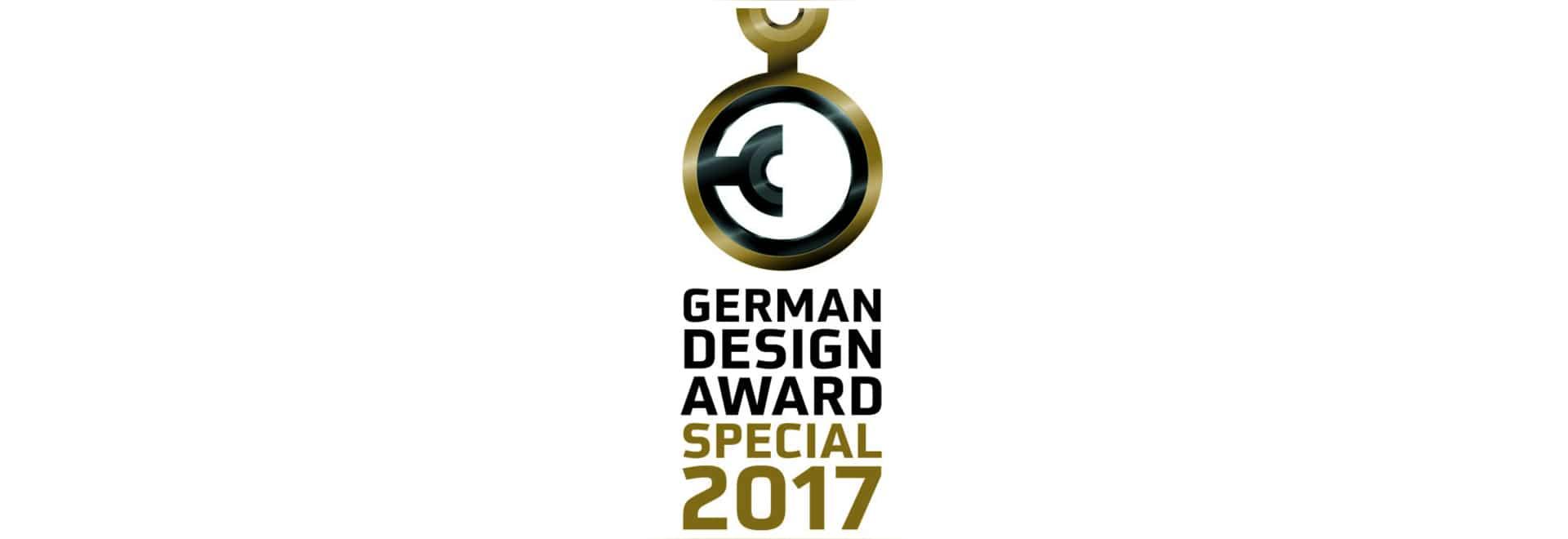 X_TEND concedió con el diseño alemán 2017 - mención especial