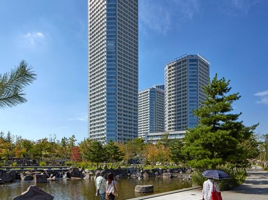 Conran y los socios termina el desarrollo enorme en el río de Tama de Tokio