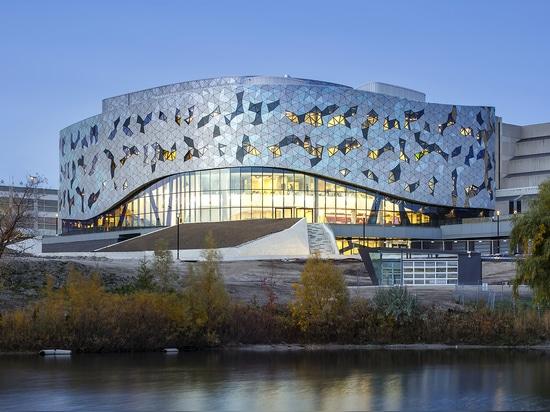 Centro de Bergeron de los arquitectos de ZAS el nuevo para dirigir excelencia en la universidad de York en Toronto mira para reinventar la manera que enseñan los estudiantes