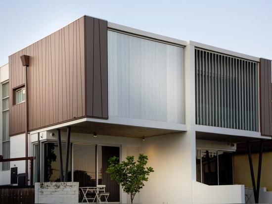 NOVEDAD: revestimiento de fachada de zinc by ASTURIANA DE LAMINADOS
