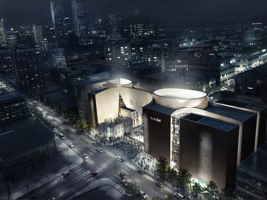 Centro de música masivo por los trabajos aliados programados para abrirse a finales de este año en Calgary