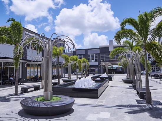 Muebles de calle de Bellitalia colocados en el Caribe