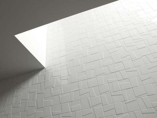 Tejas de la pared de los murales de Mosa