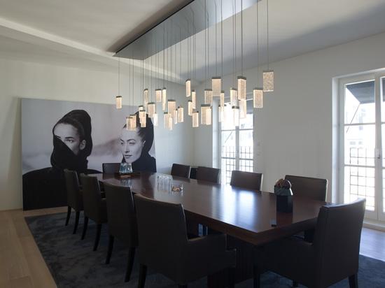 Anunció las soluciones de la iluminación para varias áreas de un businessloft en Berlín, Alemania