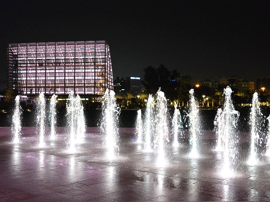 Central Park de Mushrif, Abu Dhabi, United Arab Emirates