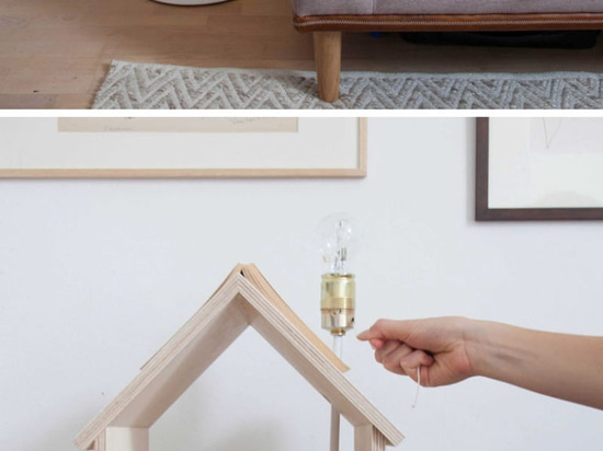 Esta tabla lateral inspirada pajarera se diseña para la lectura