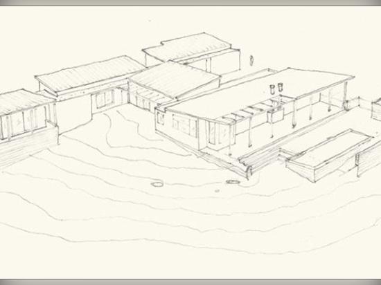 Esta casa moderna revestida e inclinada de madera del tejado fue diseñada para la vida en Silicon Valley de California