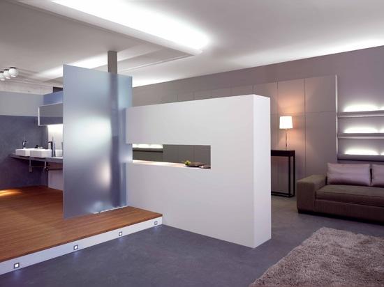 Iluminación de las soluciones para los moldeados, los rodapiés y los wallpanels decorativos