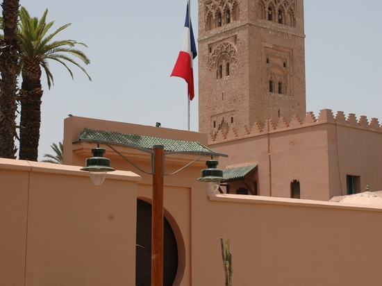 Lenzi Trianon - Marrakesh, mezquita de Koutoubia
