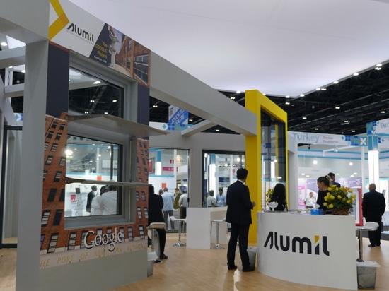 Exposición de las puertas y de las fachadas de Windows en Dubai
