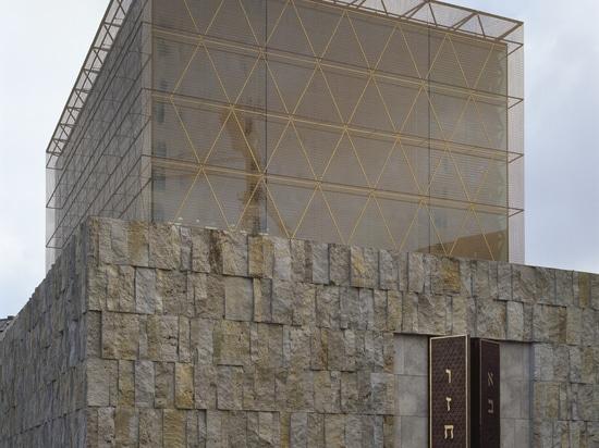 Malla y arquitectura coloreadas – malla de aluminio anodizada