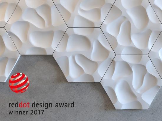 Premios triples para los productos de NMC en Dot Award rojo: Diseño de producto 2017