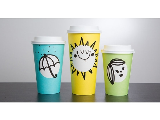 Starbucks revela las nuevas tazas Primavera-temáticas en tres colores de la diversión