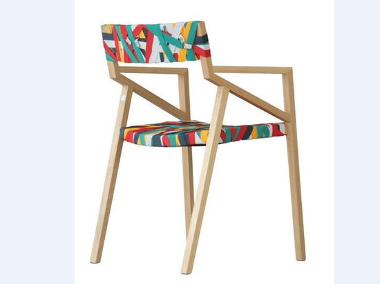 """Descubra la silla """"Bretelle"""" por Luca Martorano & georgmuehlmann"""
