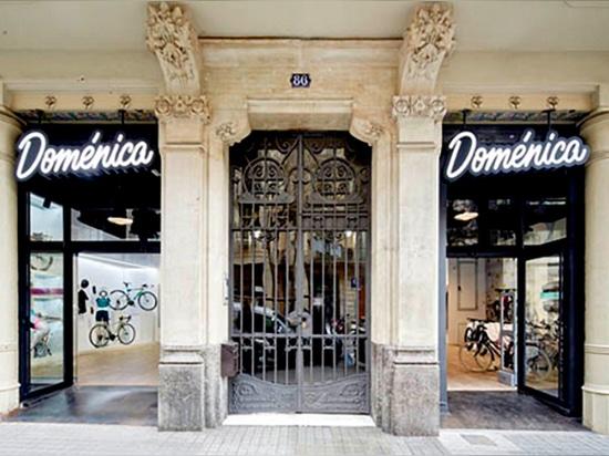 Instalaciones comerciales completas para la tienda de bicicleta