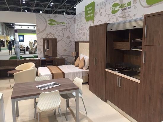 Mobilspazio en la exposición del índice de Dubai
