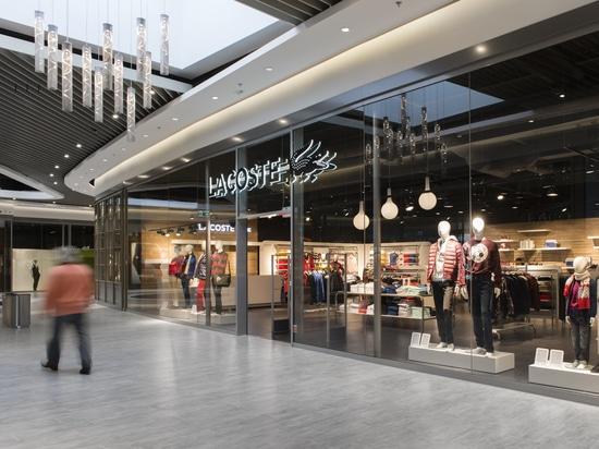 Proyecto en un centro comercial en Copenhague