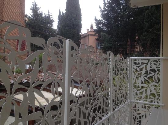 pantallas de la terraza