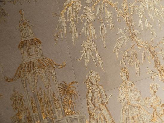 Tejas del efecto del papel pintado