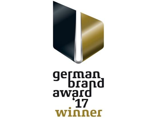 BRUNE gana el premio alemán 2017 de la marca