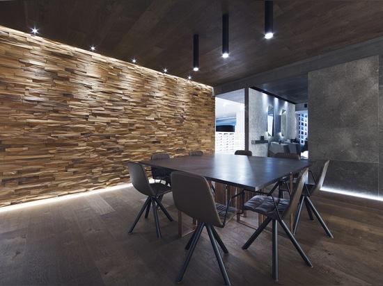 Mosaicos Wood Wall