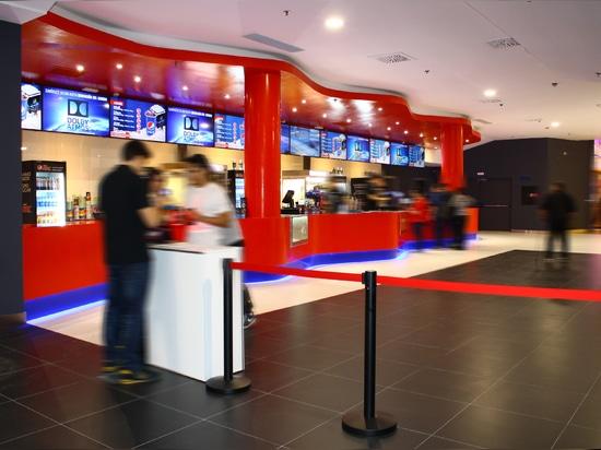 KRION® en los cines más modernos de Europa, Multicines Odeon Sambil