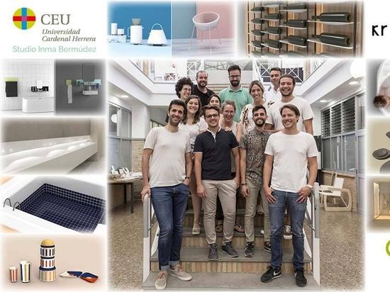 KRION colabora con el CEU, en el master de diseño de producto impartido por Inma Bermúdez Studio