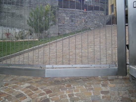 Puerta en la casa privada