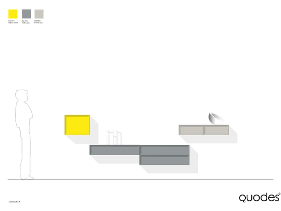 Una composición del gabinete del cuello, posibilidades sin fin…