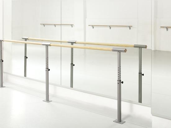Piso ajustable de la altura - montó la barra ISA-FIX del ballet