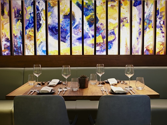 Patara Restaurant - Berners Street, London by Superfutures