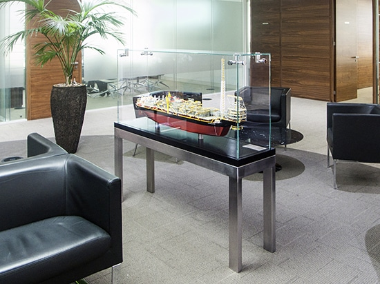 Gabinetes de exhibición de cristal contemporáneos