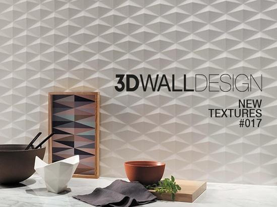 Nuevas texturas para la colección 3D Wall Design
