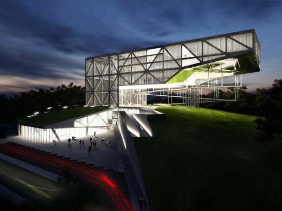 MUSEU DA TOLERÂNCIA de Frentes Arquitetos. Estructura por YCON Engenharia.
