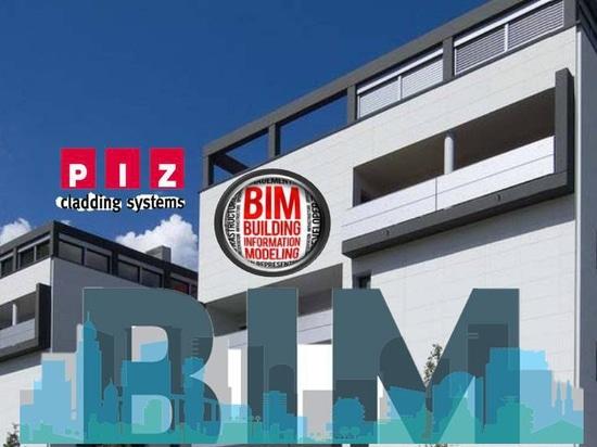 Sistema de revestimiento PIZ - BIM