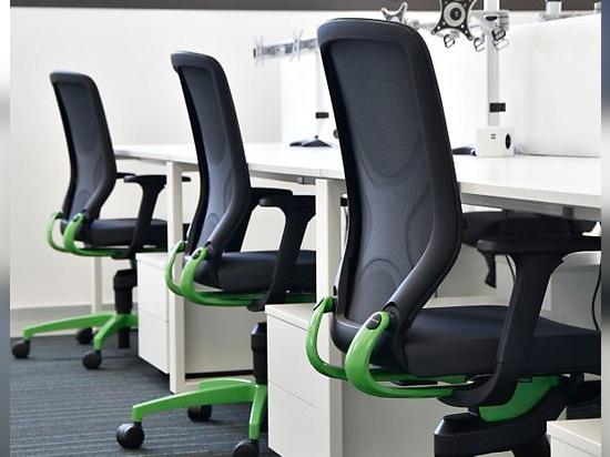 La oficina diseñada como una biosfera