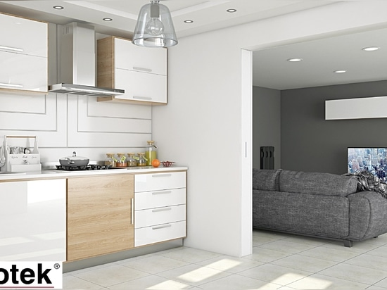 ¿Poco espacio en la cocina? ¡Bigfoot®+ y la mesa desaparece en la pared!