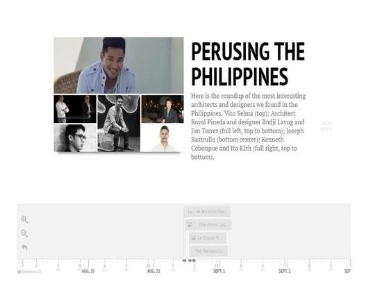 A tiempo: Leer las islas cuidadosamente filipinas