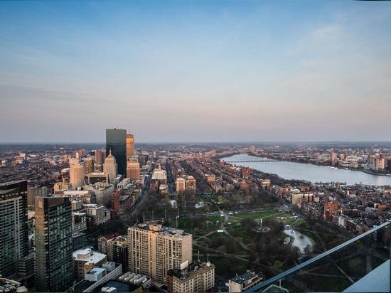 Opinión de Boston - de la torre del milenio
