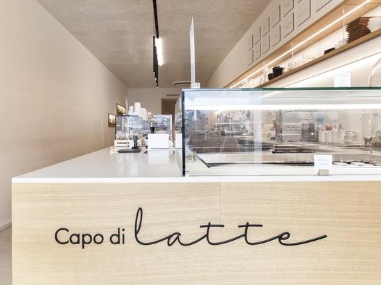 La primera heladería firmada por Lapitec®