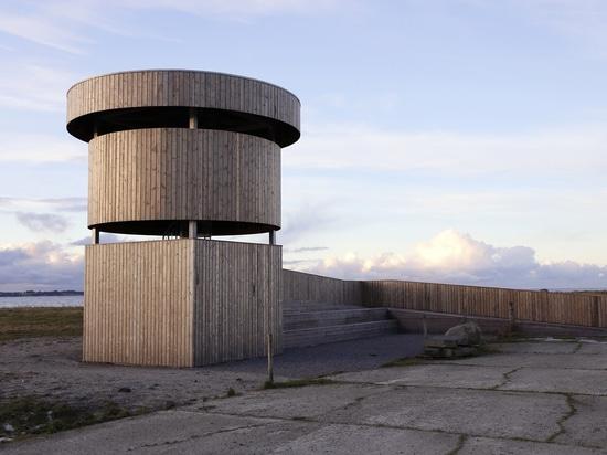 El observatorio de Kebony ofrece el punto de vista 360°