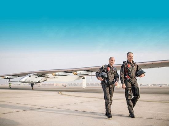 Cortesía del Solar Impulse